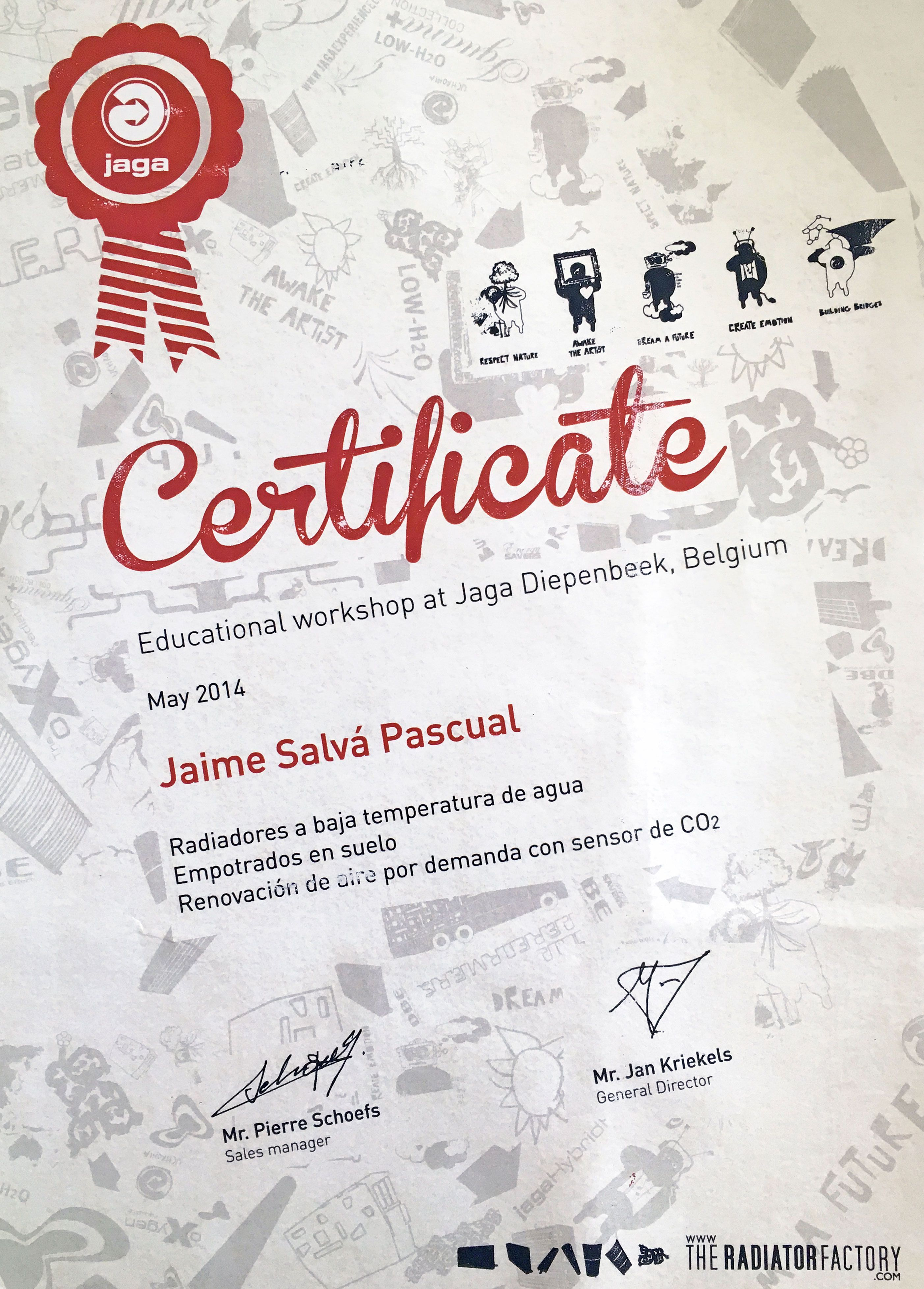 Workshop en JAGA